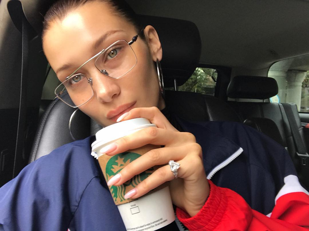 Bella Hadid without makeup